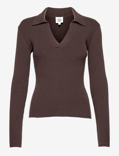 Clara Sweater - trøjer - coffe