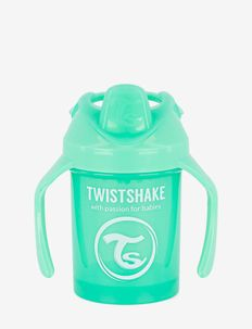 Twistshake Mini Cup 230ml 4+m Pastel Green - gobelets à bec - green
