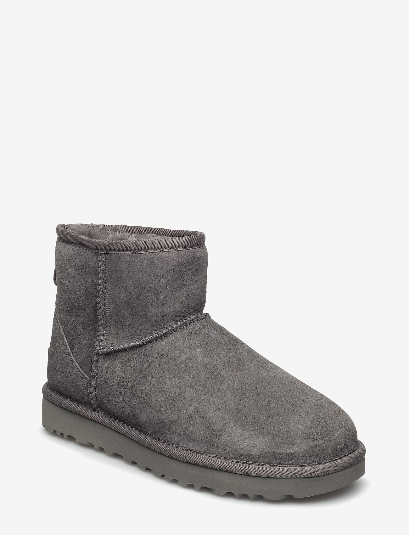 UGG - W Classic Mini II - flat ankle boots - grey - 0