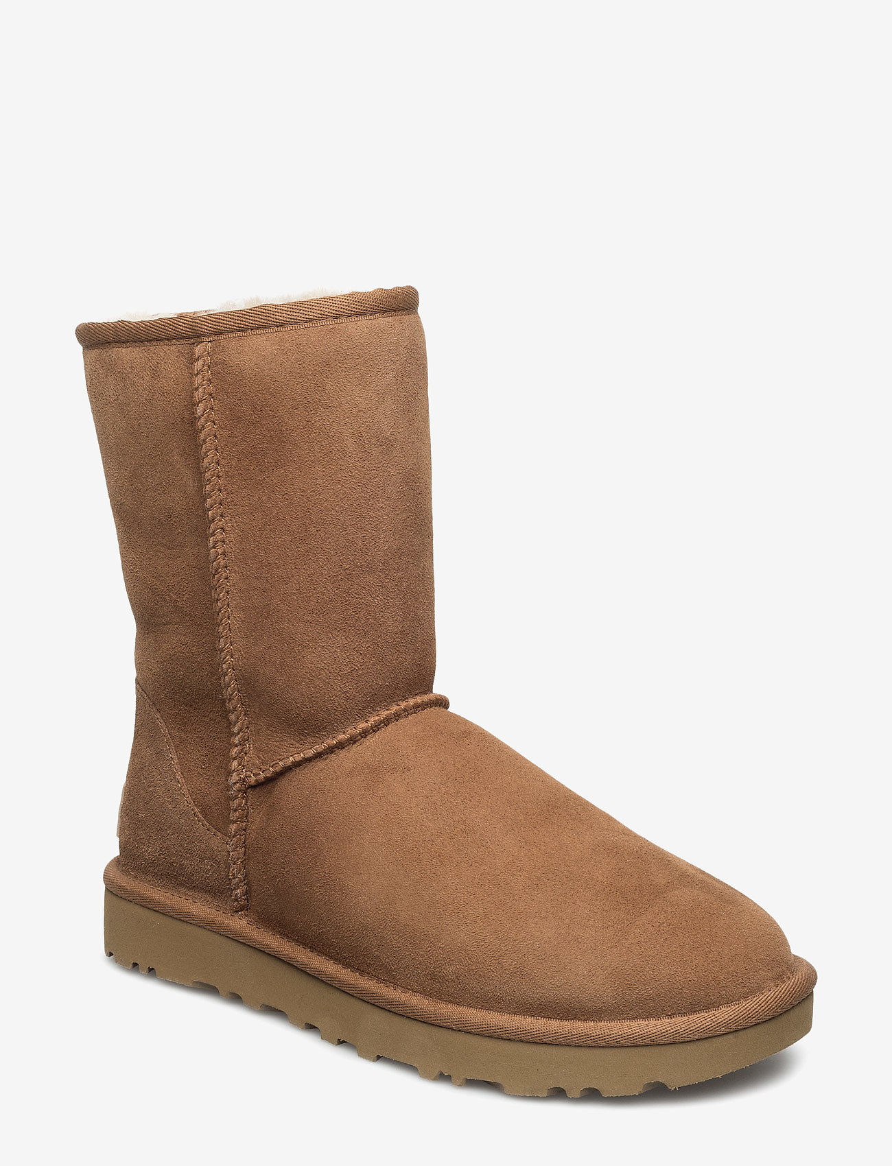 UGG - W Classic Short II - flat ankle boots - chestnut - 0