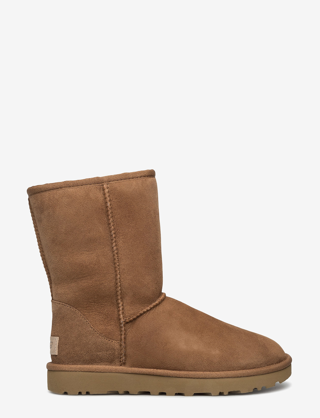 UGG - W Classic Short II - flat ankle boots - chestnut - 1