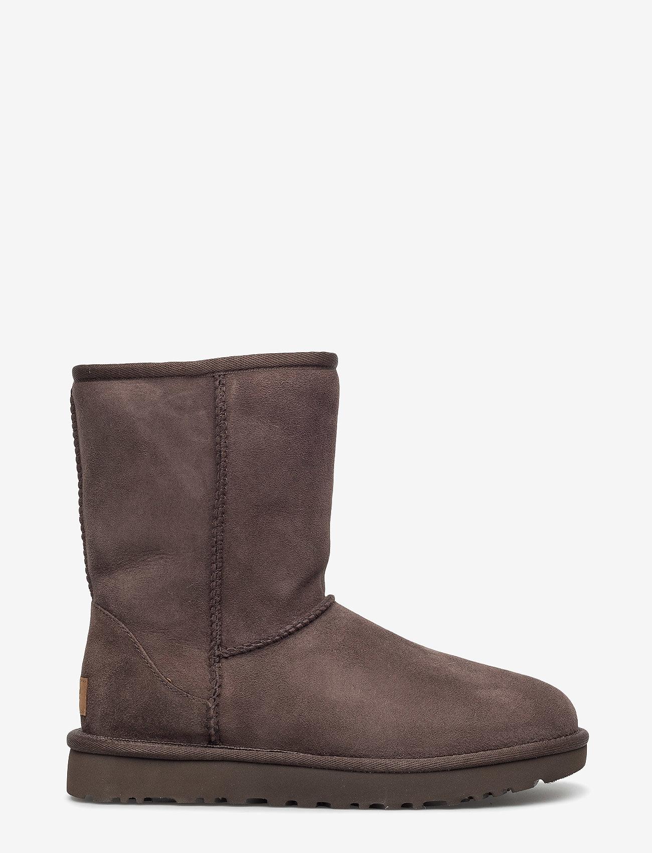 UGG - W Classic Short II - flade ankelstøvler - chocolate - 1