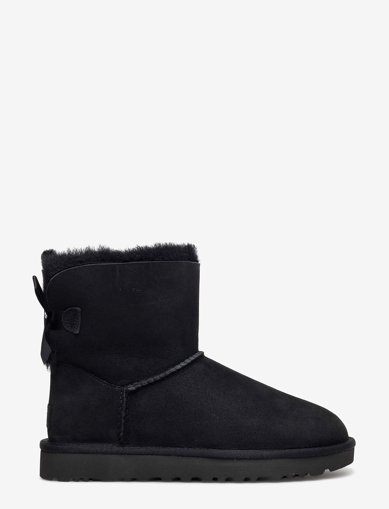 UGG - W Mini Bailey Bow II - flat ankle boots - black - 1