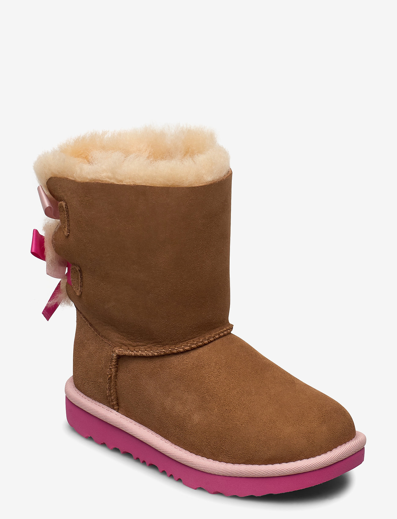 UGG - K Bailey Bow II - bottes d'hiver - che / pink azalea - 0