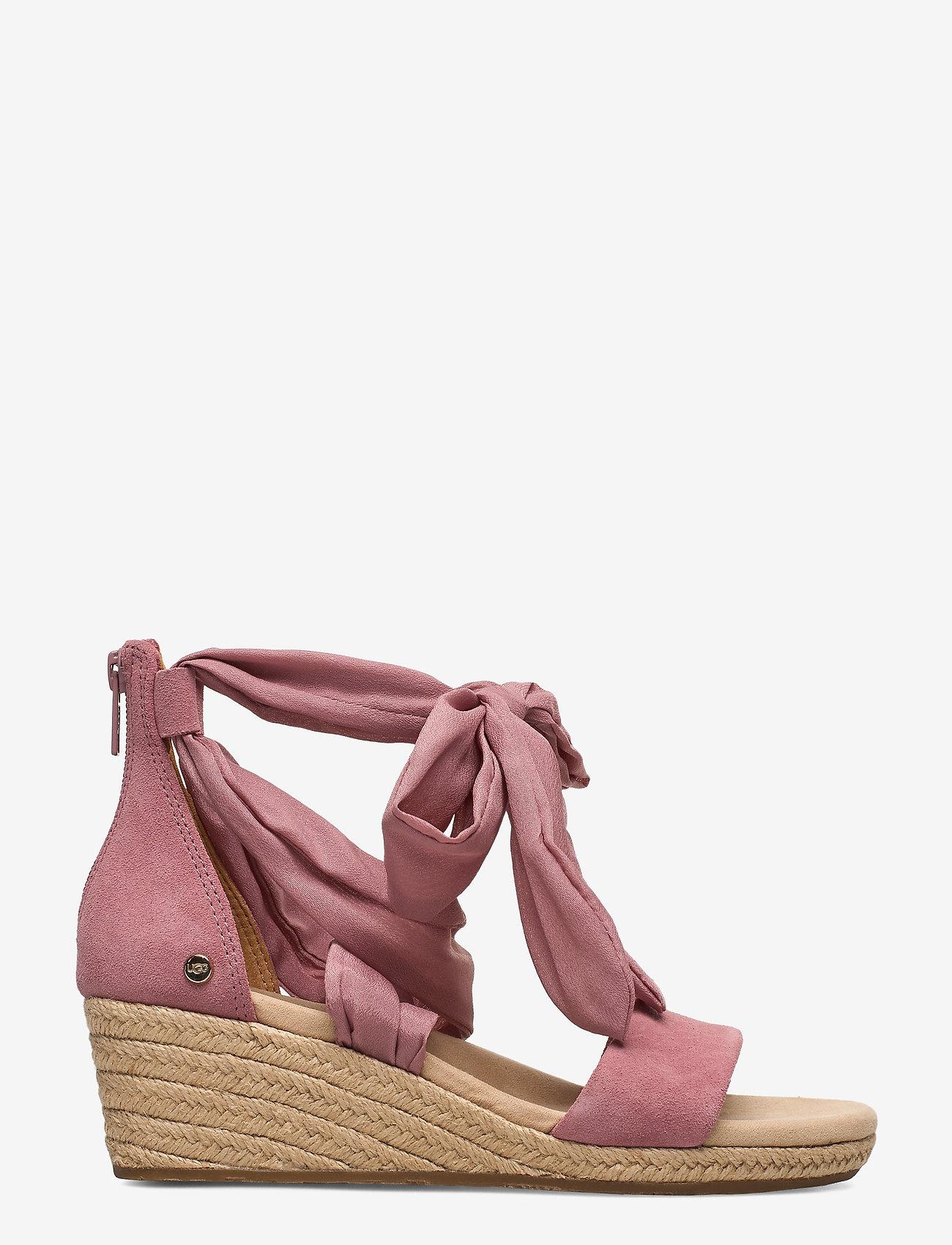 UGG - W.Trina - espadrilles avec talon - pink dawn - 1