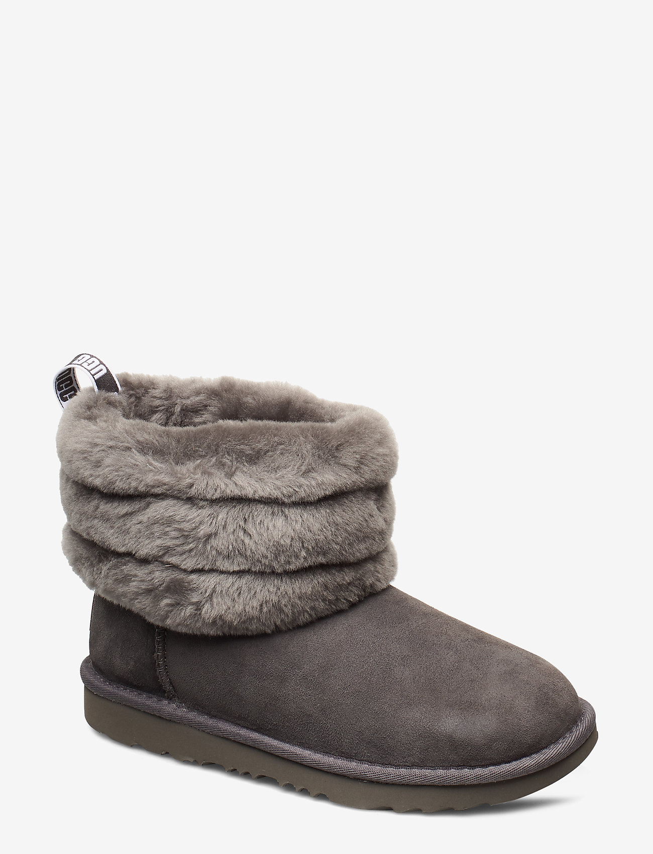 UGG - K Fluff Mini Quilted - bottes d'hiver - charcoal - 0