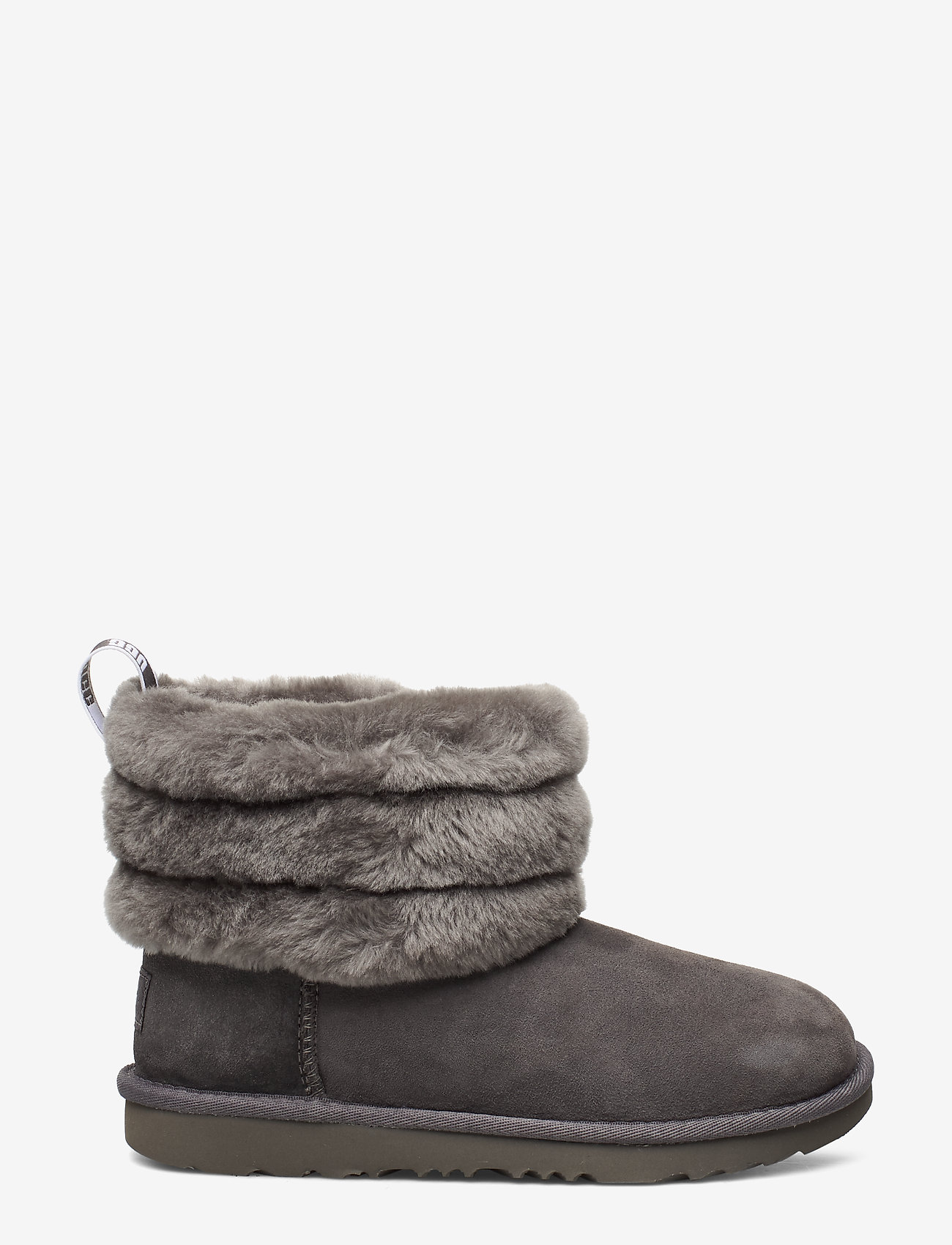 UGG - K Fluff Mini Quilted - bottes d'hiver - charcoal - 1