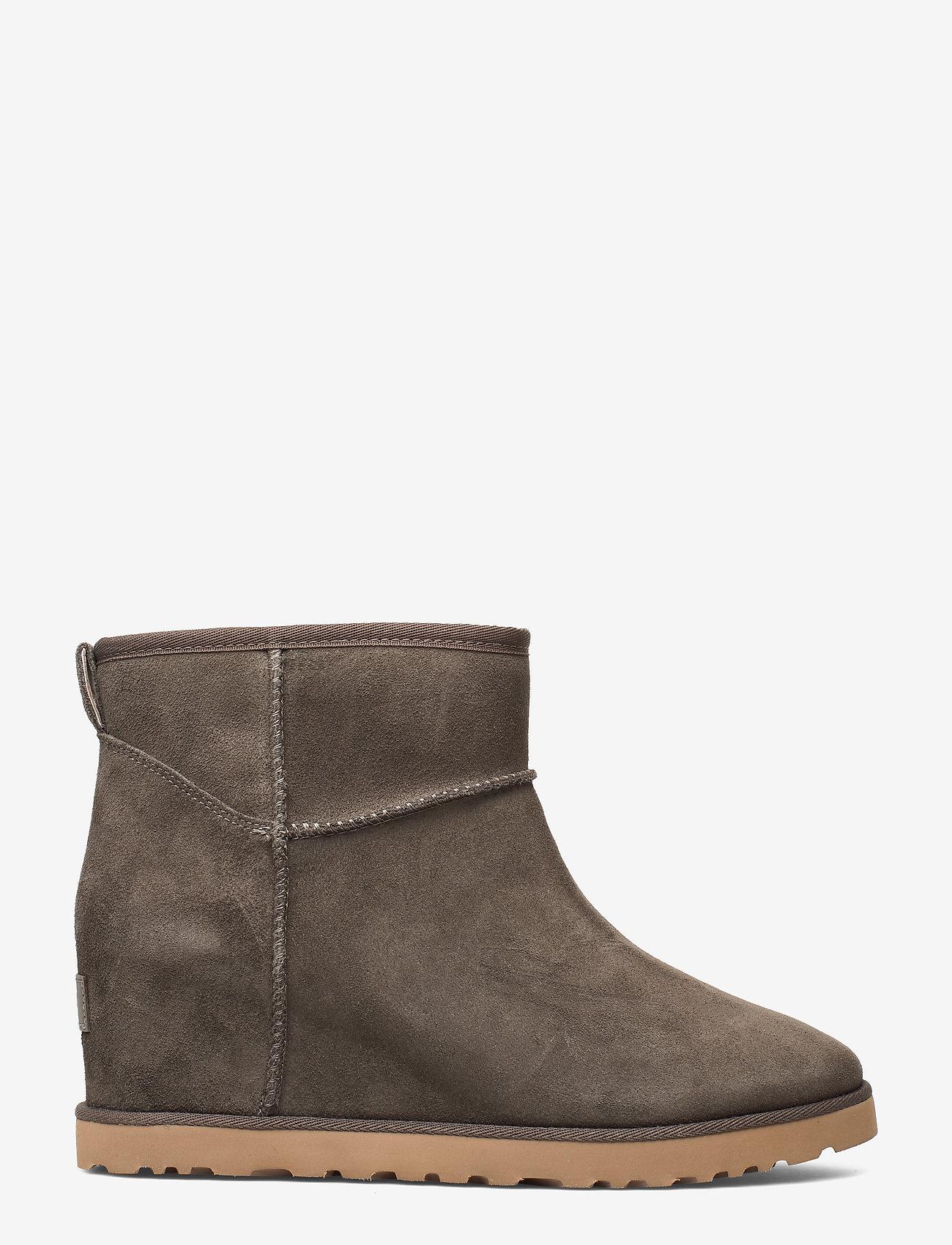 UGG - W Classic Femme Mini - flade ankelstøvler - slate - 0