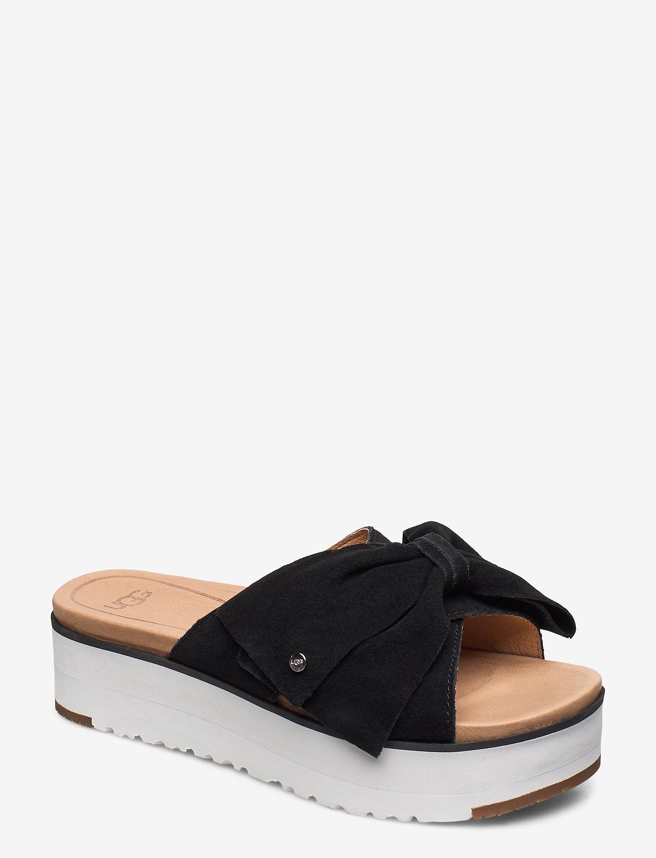 UGG - W Joanie - platte sandalen - black - 0