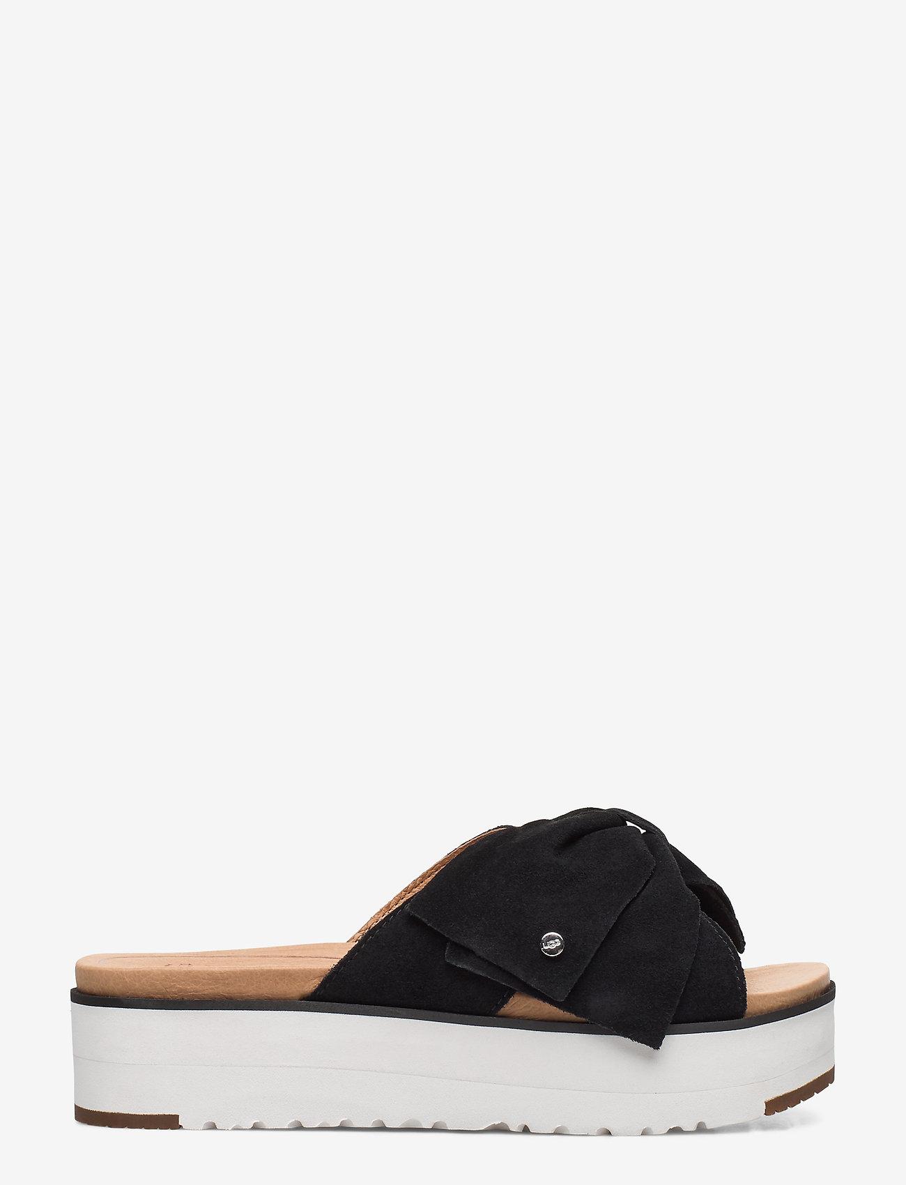 UGG - W Joanie - platte sandalen - black - 1