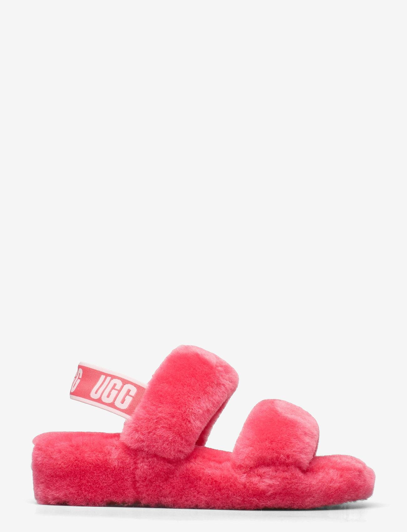 UGG - W Oh Yeah - platte sandalen - strawberry sorbet - 1