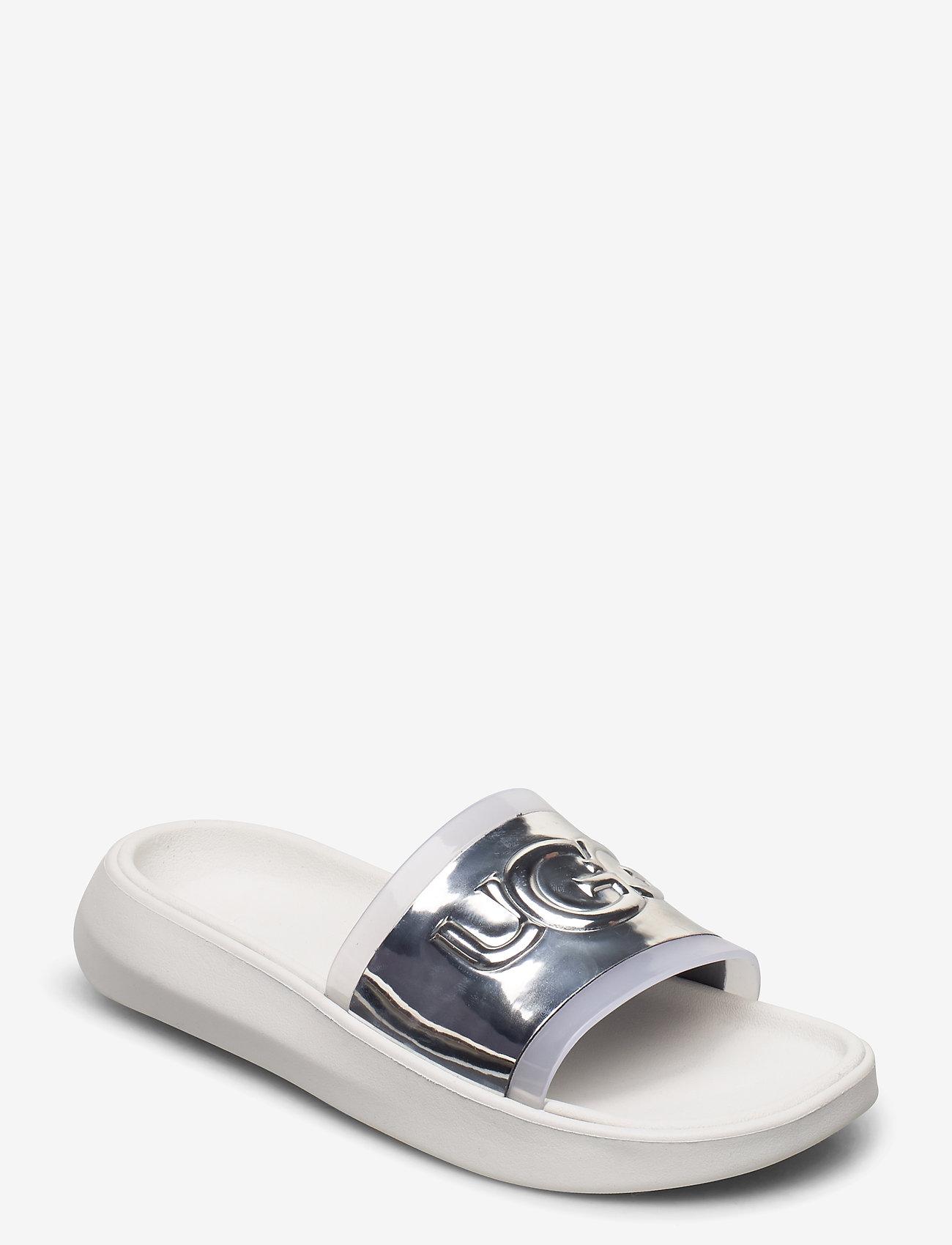 UGG - W Hilama Slide - badslippers - white - 0