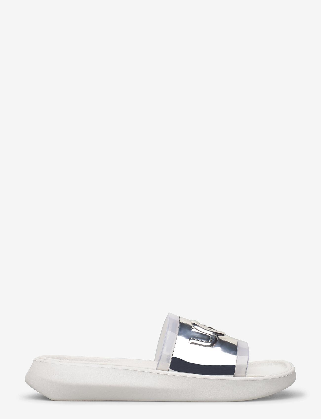 UGG - W Hilama Slide - badslippers - white - 1