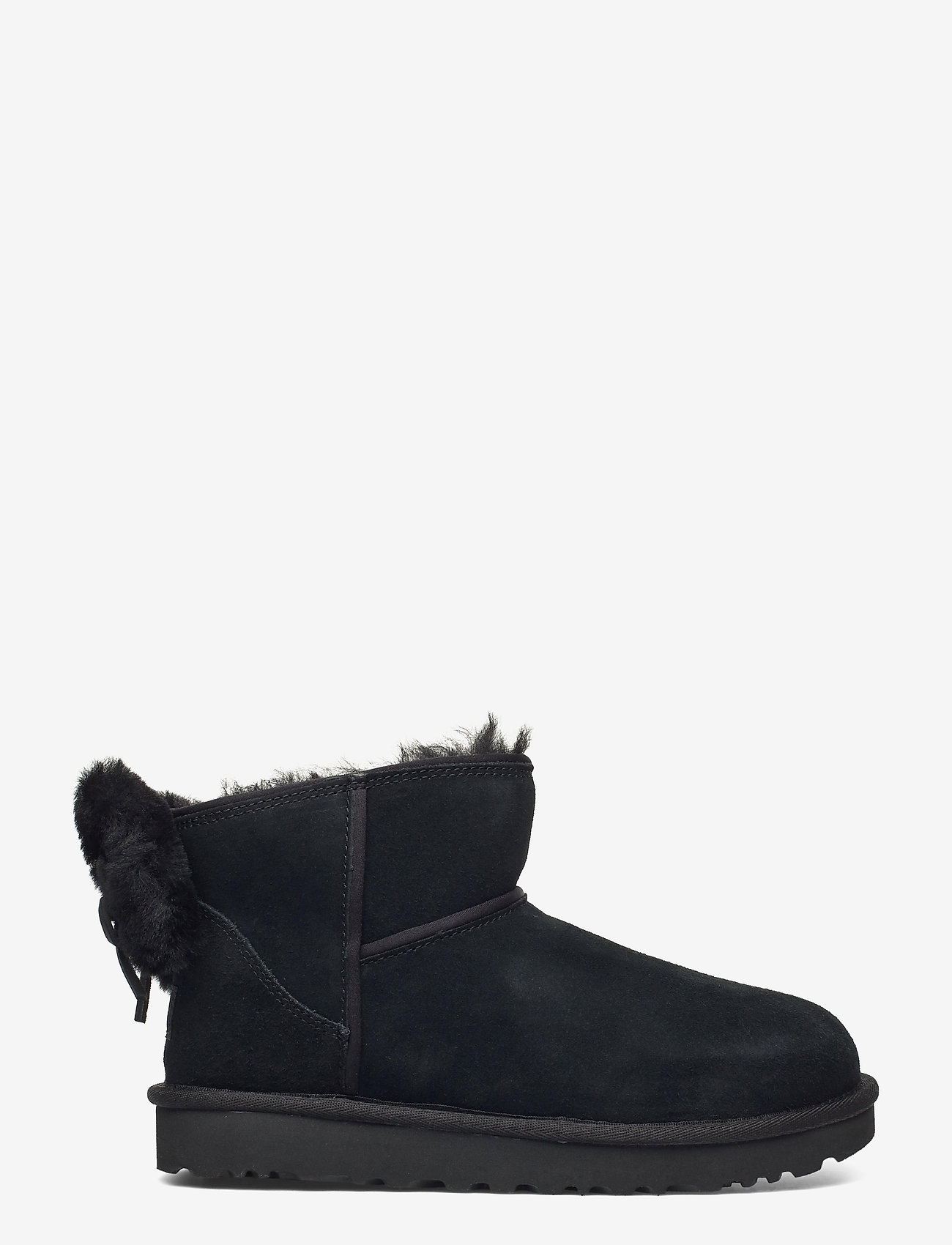 UGG - W Classic Mini Bow - flat ankle boots - black - 1