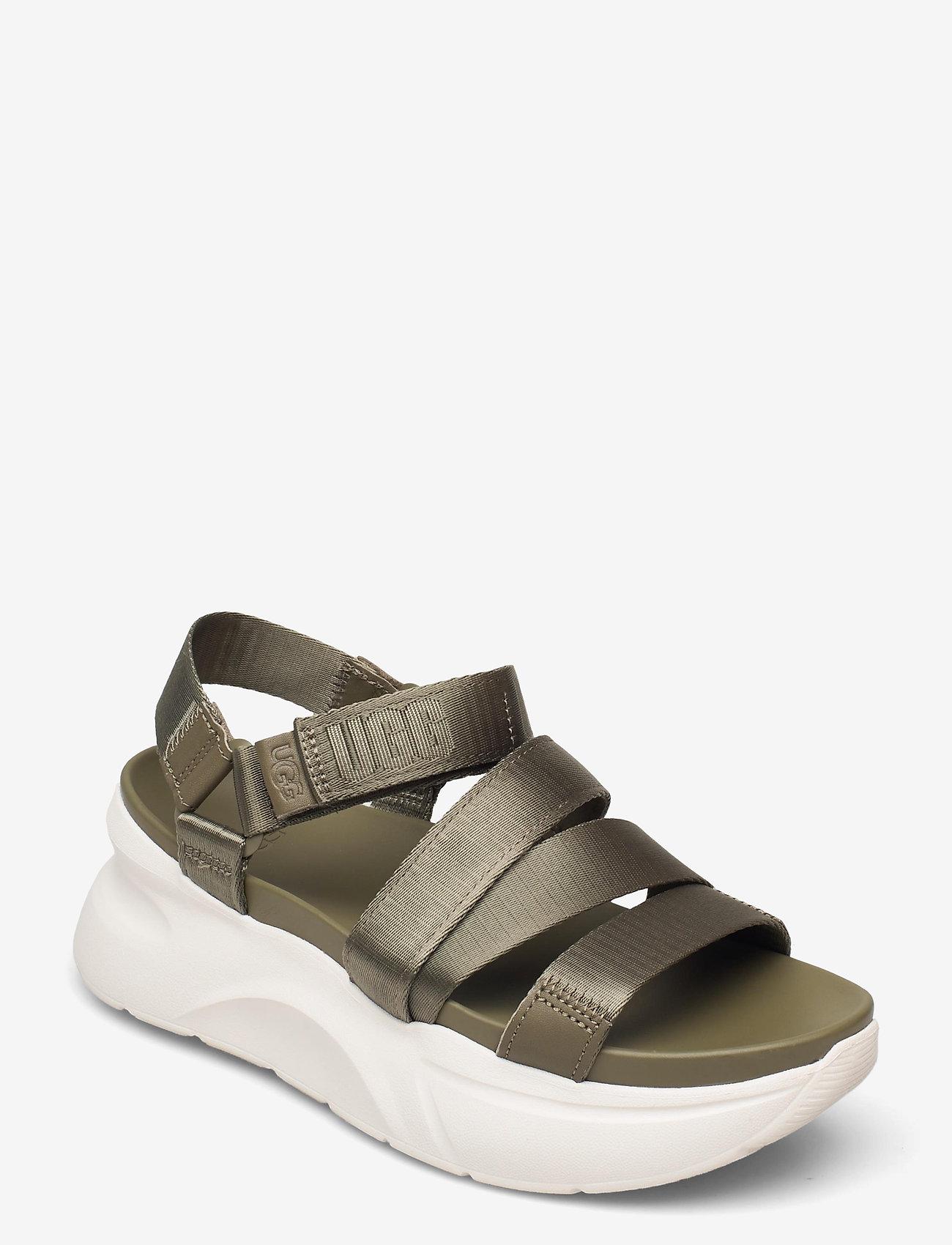 UGG - W LA Shores - platte sandalen - burnt olive - 0
