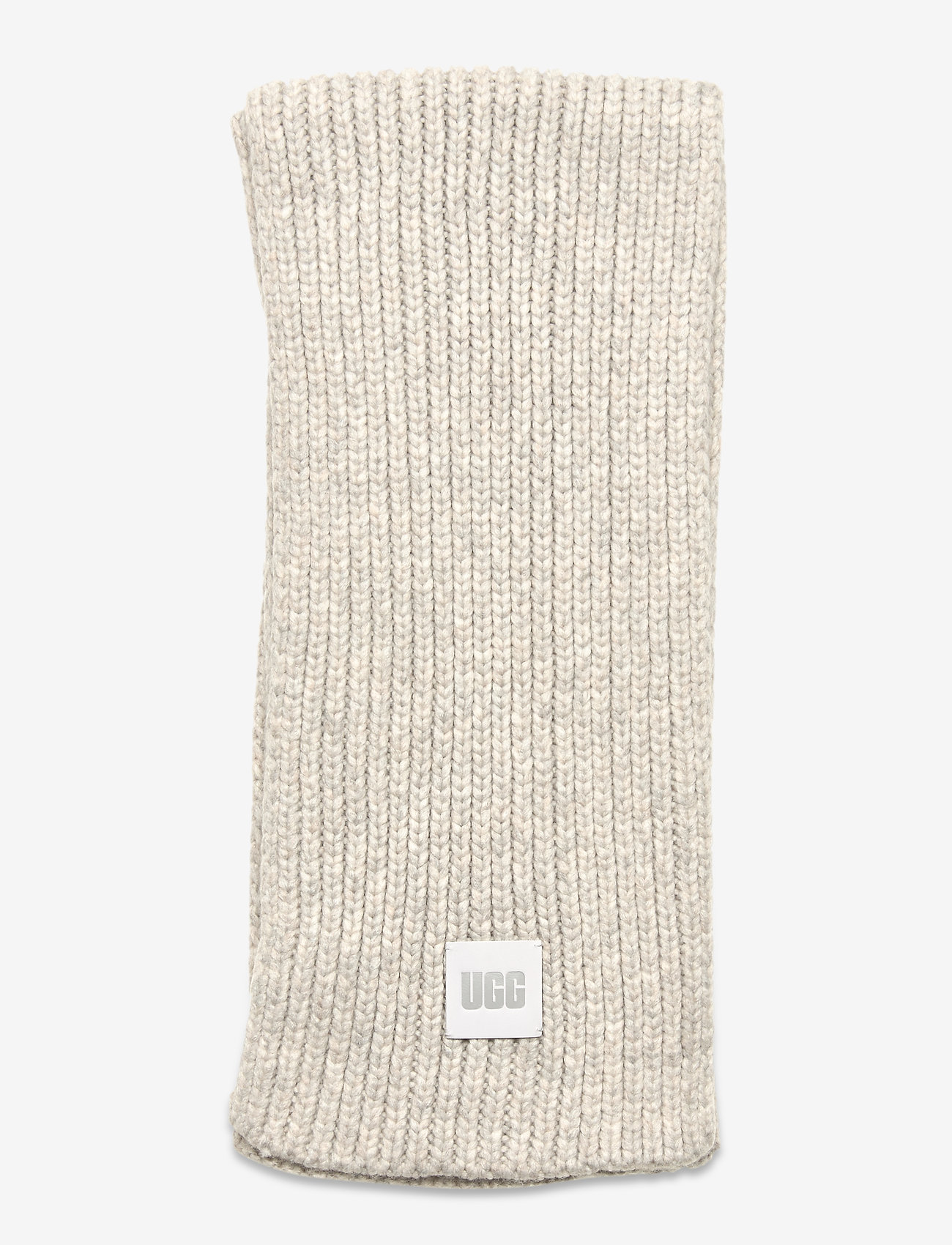 UGG - W CHUNKY RK SCARF - sjaals - light grey - 1