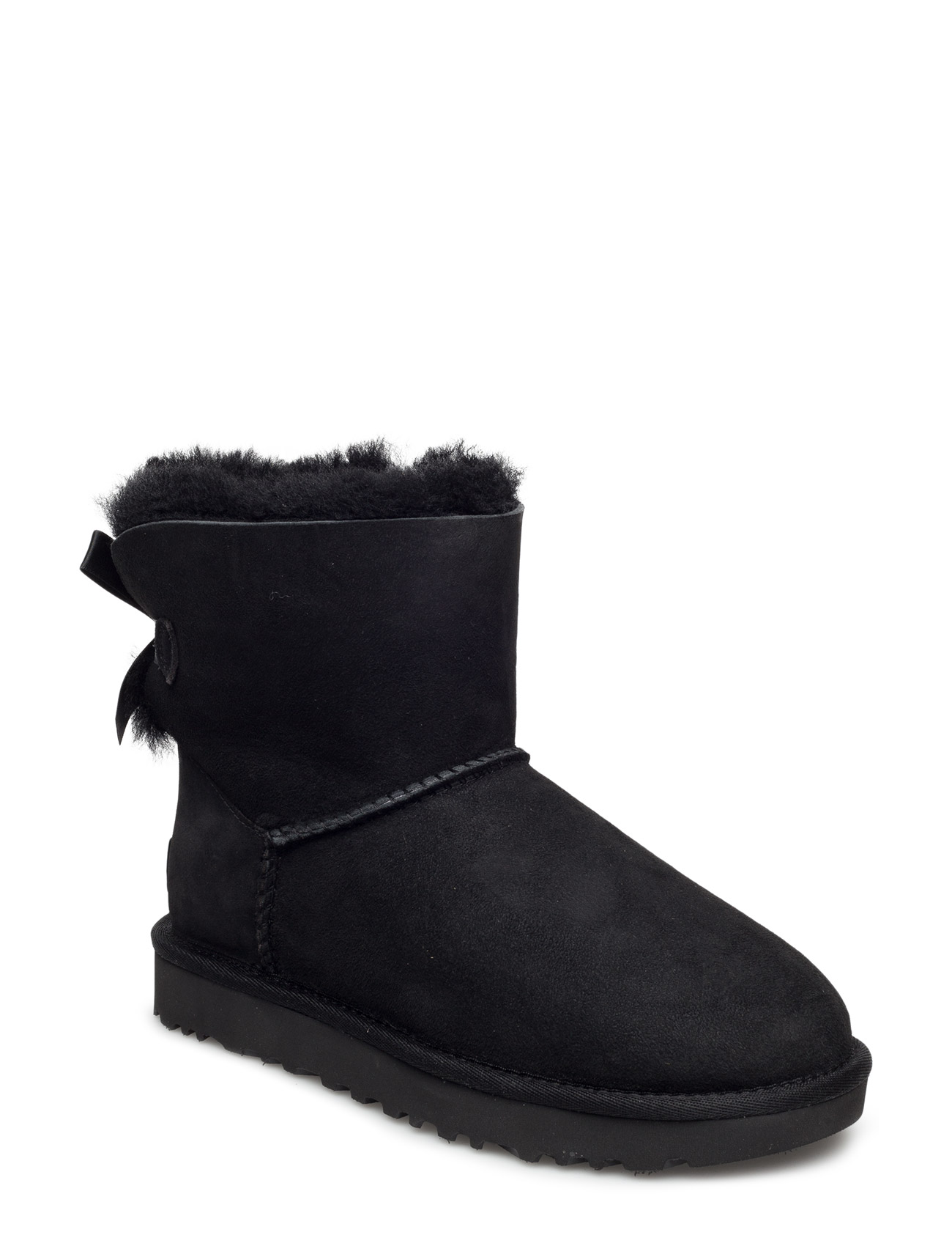 e2a5f56e1b68 Sort UGG W Mini Bailey Bow Ii vinterstøvler for dame - Pashion.dk