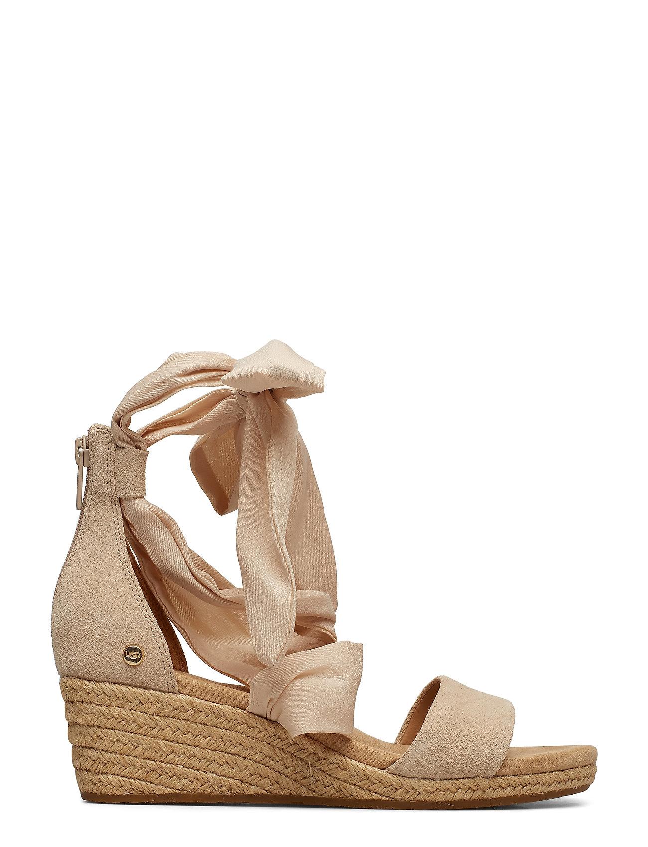 UGG - W.Trina - heeled espadrilles - nude