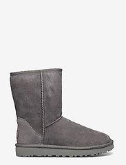 UGG - W Classic Short II - flat ankle boots - grey - 1