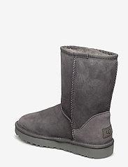 UGG - W Classic Short II - flat ankle boots - grey - 2