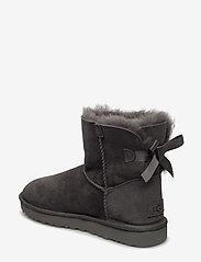 UGG - W Mini Bailey Bow II - flat ankle boots - grey - 2