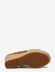 UGG - W Harlow - espadrilles avec talon - chestnut - 4