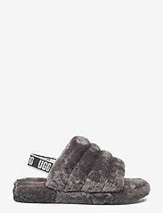 UGG - Fluff Yeah Slide - schuhe - charcoal - 1