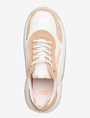 UGG - W LA Cloud Low - sneakersy niskie - wht/bronz/peach fuzz - 3