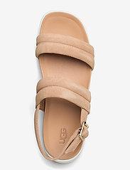 UGG - Lynnden - platte sandalen - bronzer - 3