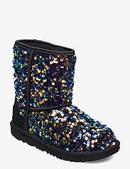 UGG - K ClassicII Stel Seq - vinter boots - black - 0