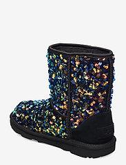 UGG - K ClassicII Stel Seq - vinter boots - black - 2