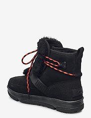 UGG - W Classic Weather Hi - flade ankelstøvler - black - 2