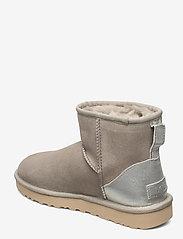 UGG - W ClassicMini II Met - flat ankle boots - goat - 2