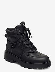 UGG - W Tioga Hiker - flade ankelstøvler - black - 0