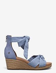 UGG - W Yarrow - højhælede espadrillos - blue canvas - 0