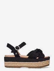 UGG - W Trisha - platte sandalen - black suede - 1