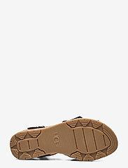 UGG - W Trisha - platte sandalen - black suede - 4