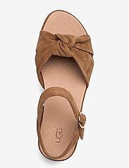UGG - W Trisha - platte sandalen - chestnut suede - 3