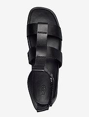 UGG - W Eeba - platte sandalen - black mesh - 3