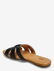 UGG - W Teague - platte sandalen - black lth - 2