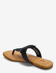 UGG - W Gaila - platte sandalen - black leather - 2