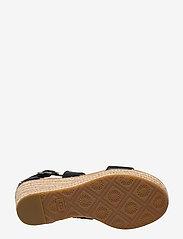 UGG - W Hylda - højhælede espadrillos - black leather - 4
