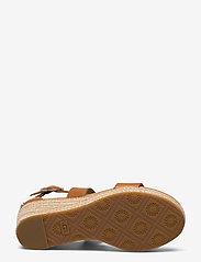 UGG - W Hylda - højhælede espadrillos - tan leather - 4