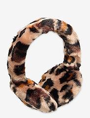 UGG - W FAUX FUR EARMUFF - hoofdbanden - leopard - 0