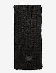 UGG - W CHUNKY RK SCARF - sjaals - black - 1