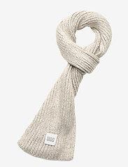 UGG - W CHUNKY RK SCARF - sjaals - light grey - 0