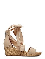 UGG - W.Trina - heeled espadrilles - nude - 1