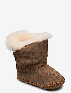 I Cassie Leopard - winter boots - chestnut leopard