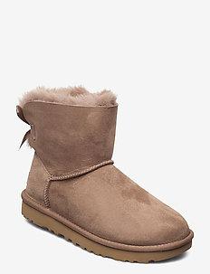 Mini Bailey Bow II - flat ankle boots - caribou