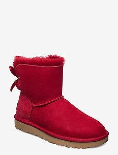 Mini Bailey Bow II - flat ankle boots - kiss